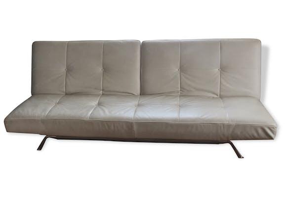 Canapé blanc Cinna - cuir - blanc - design - 67856
