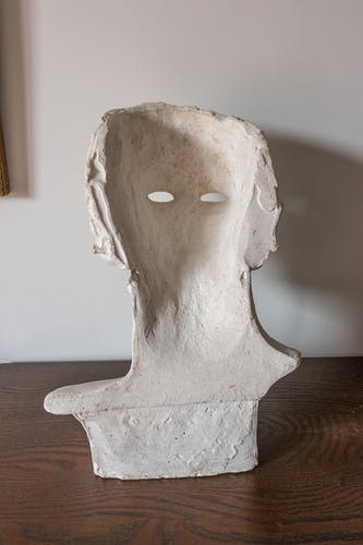 Ancient plaster bust