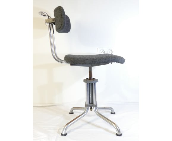 W.H GISPEN Fashion 353 vintage workshop or office chairs