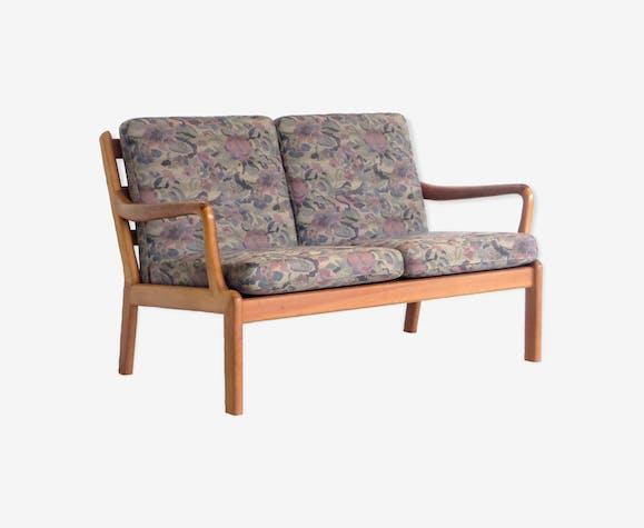 Canapé 2 placesdesign danois par L. Olsen & Son