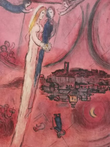 Affiche ancienne Marc Chagall