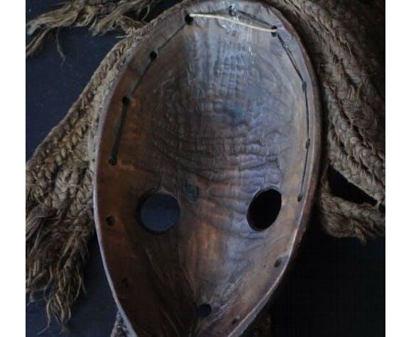 Ancien masque Dan Côte d'ivoire art tribal africain début XXème