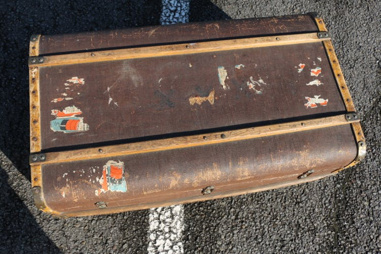 Old trunk