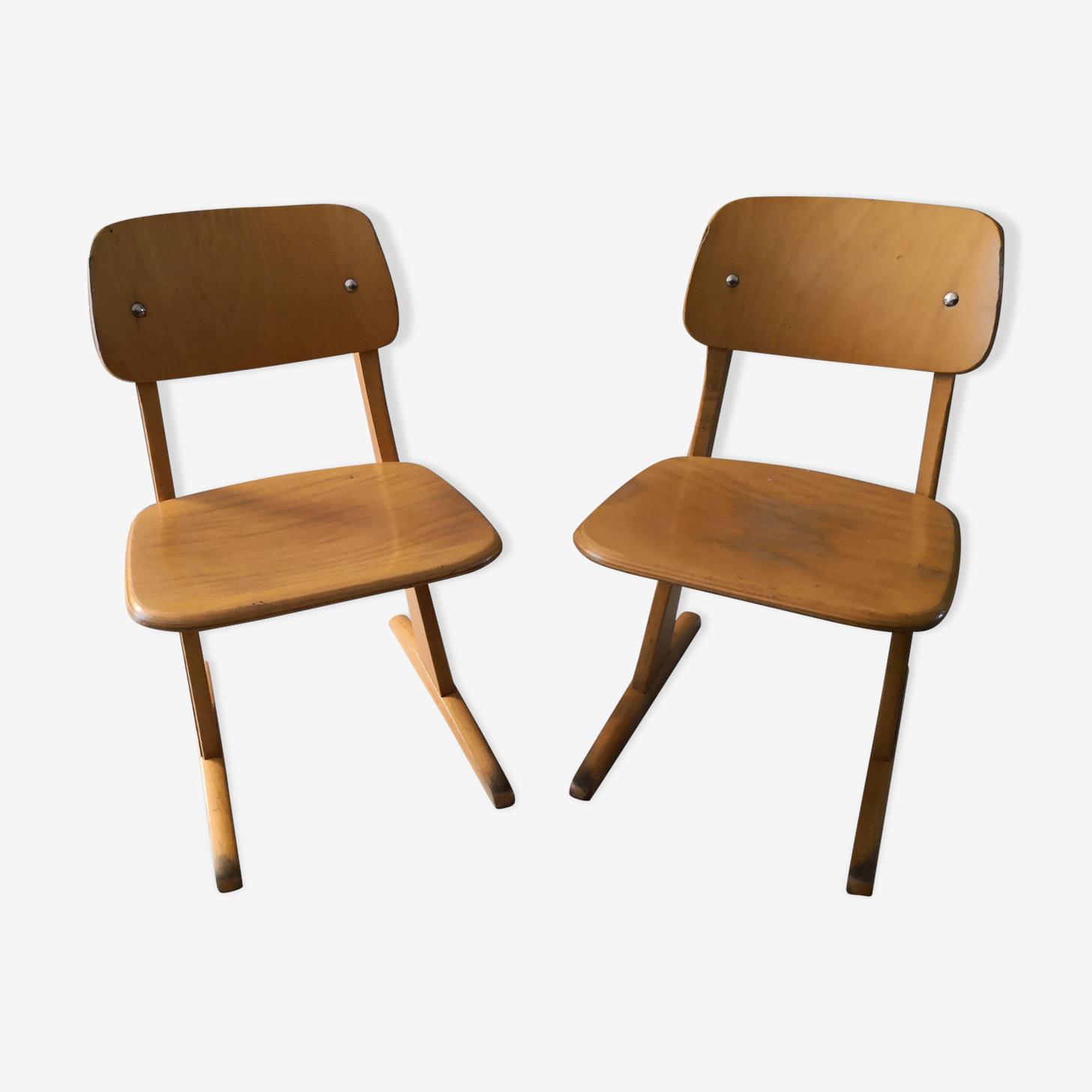Deux chaises Casala pour enfant