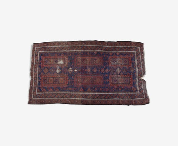Tapis persan de la fin du 19ème siècle 107x187cm