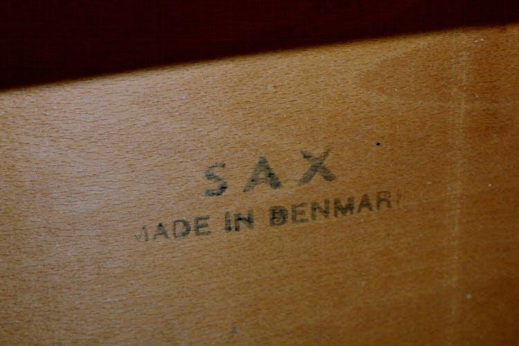 Set de 4 chaises en teck, SAX, Danemark, 1960