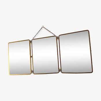 Miroirs de barbier vintage miroirs triptyque d 39 occasion for Immense miroir