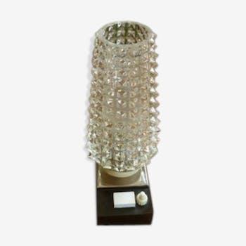 Lampe de chevet en cristal