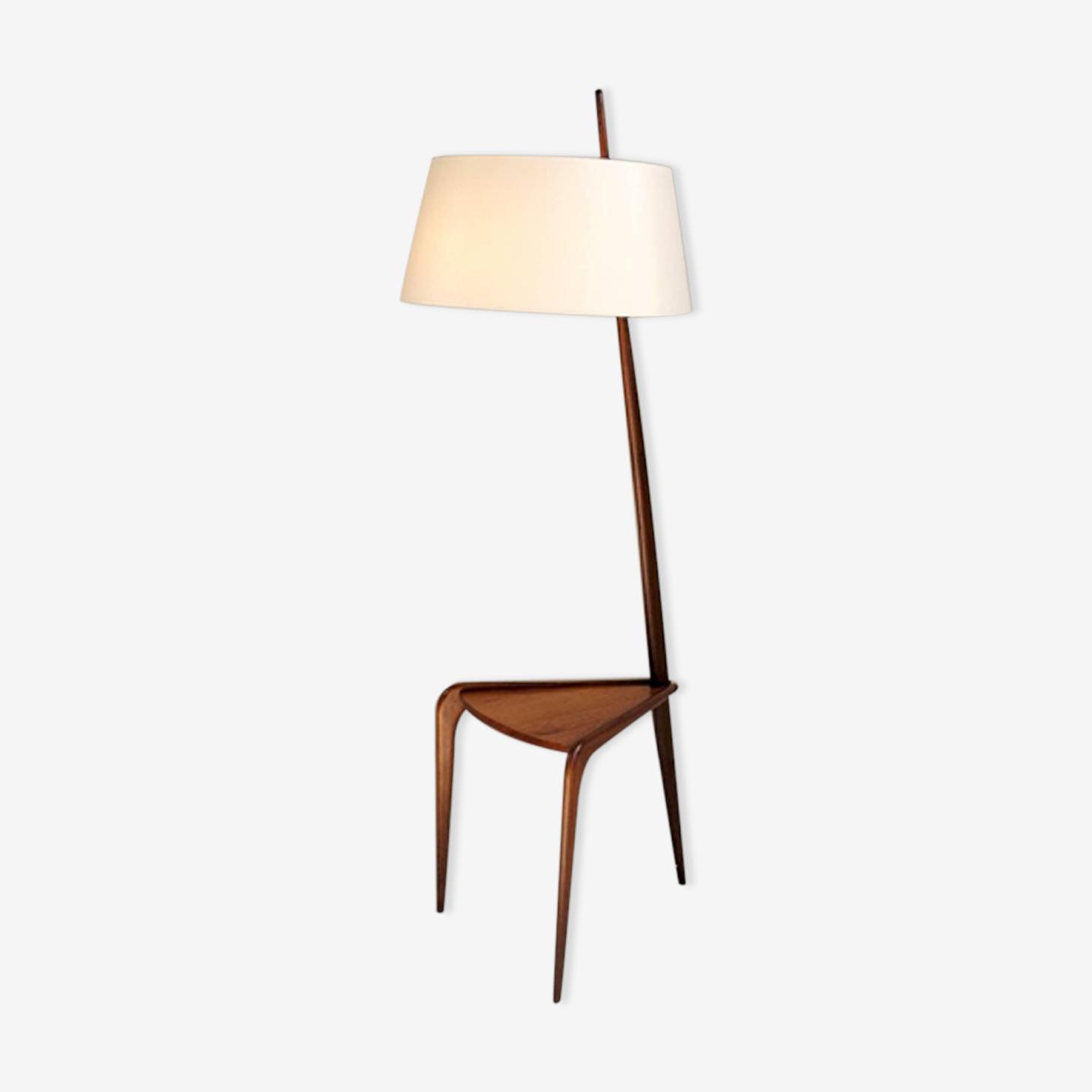Tripod floor lamp from Jean Rispal 50s
