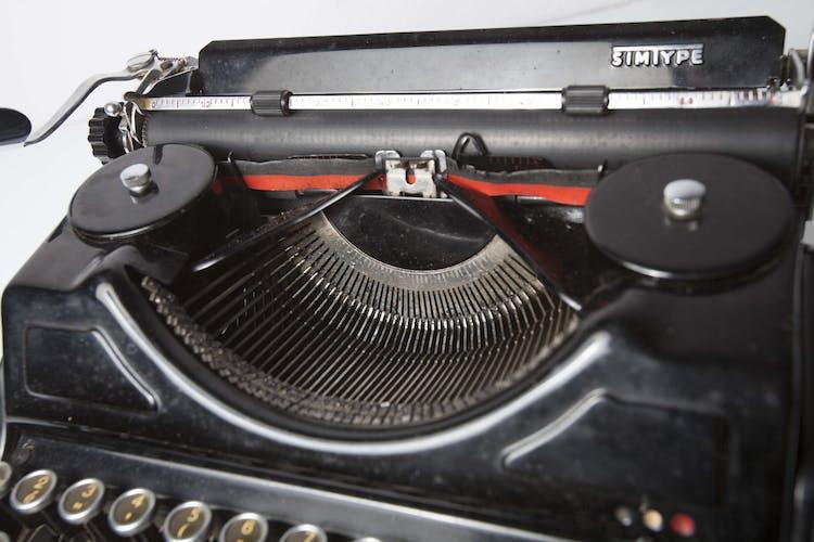 Machine à écrire Simtype de 1951