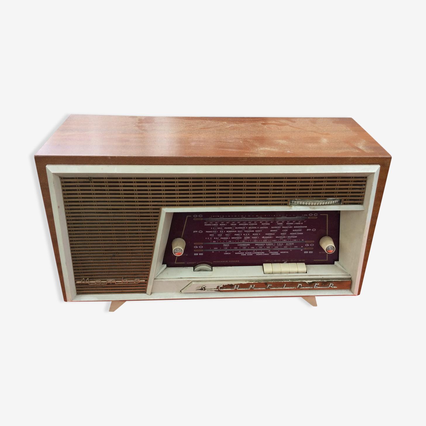 Radio Schneider  Mambo  vintage 1958