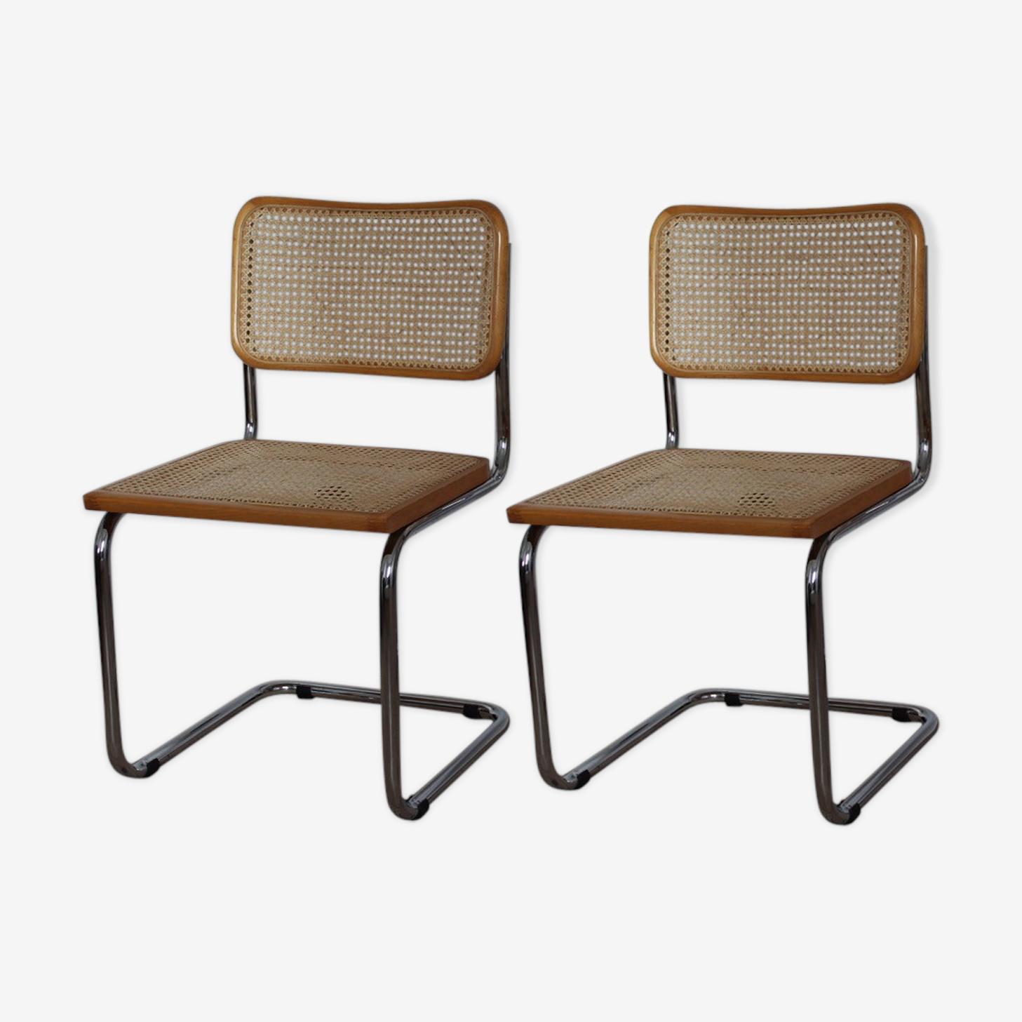 Paire de chaise Breuer