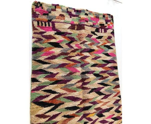 Moroccan Berber rug Boujaad camaïeu of colors 2.49x1.7m