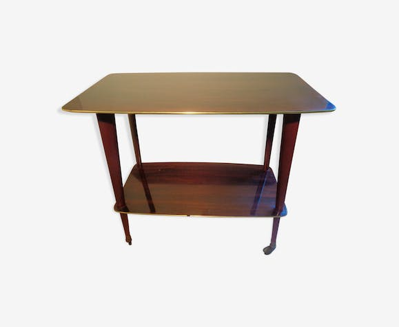 Side 70s table on wheels