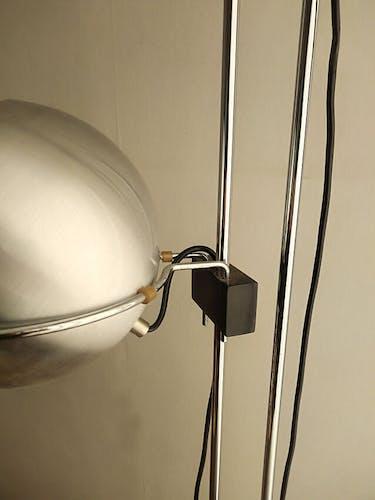 3 globe lamppost by Goffredo Reggiani, Reggiani edition 1970