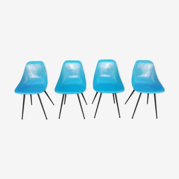 Set of 4 chairs Ladybird