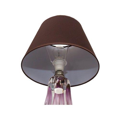 Lamp in Crystal Val St Lambert