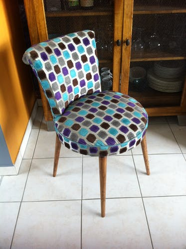 Chair vintage compass