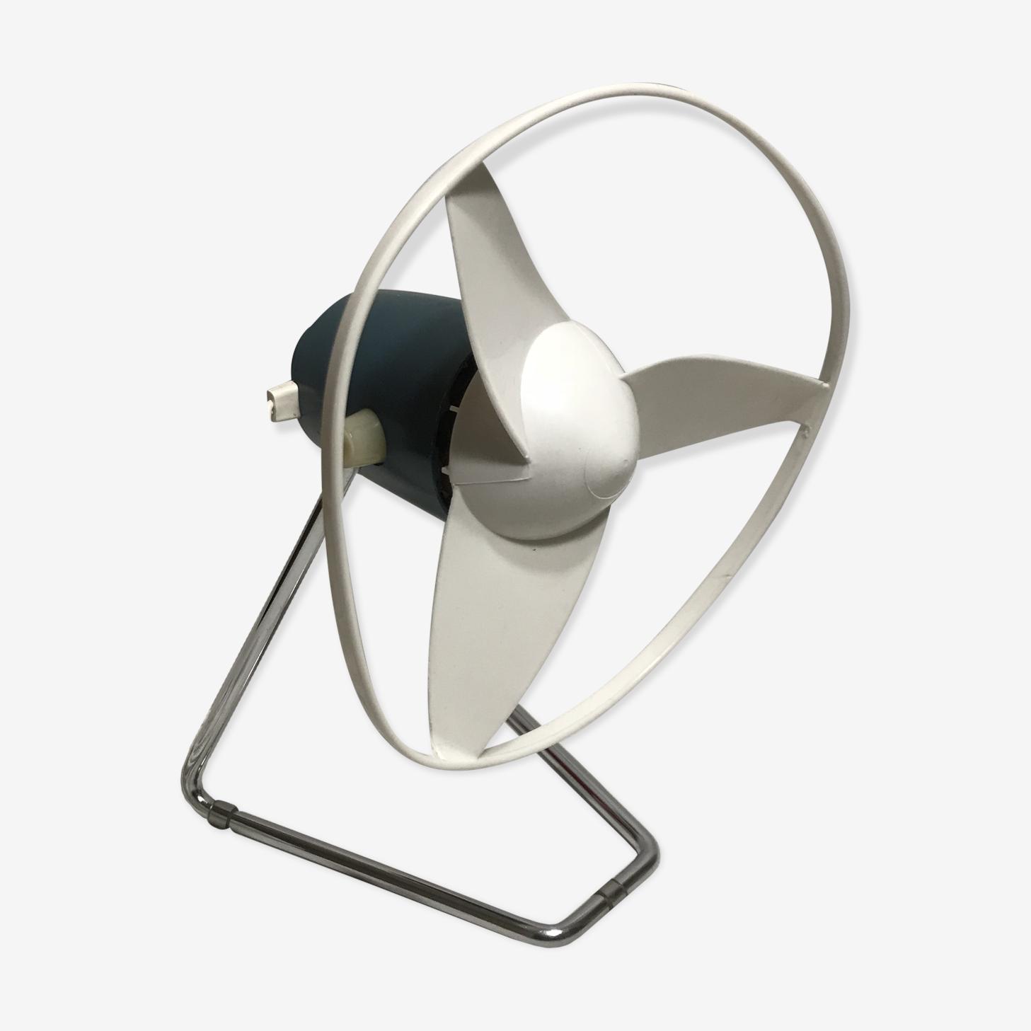 Ancien ventilateur orientable calor 951 pied métal années 70 fonctionnel vintage