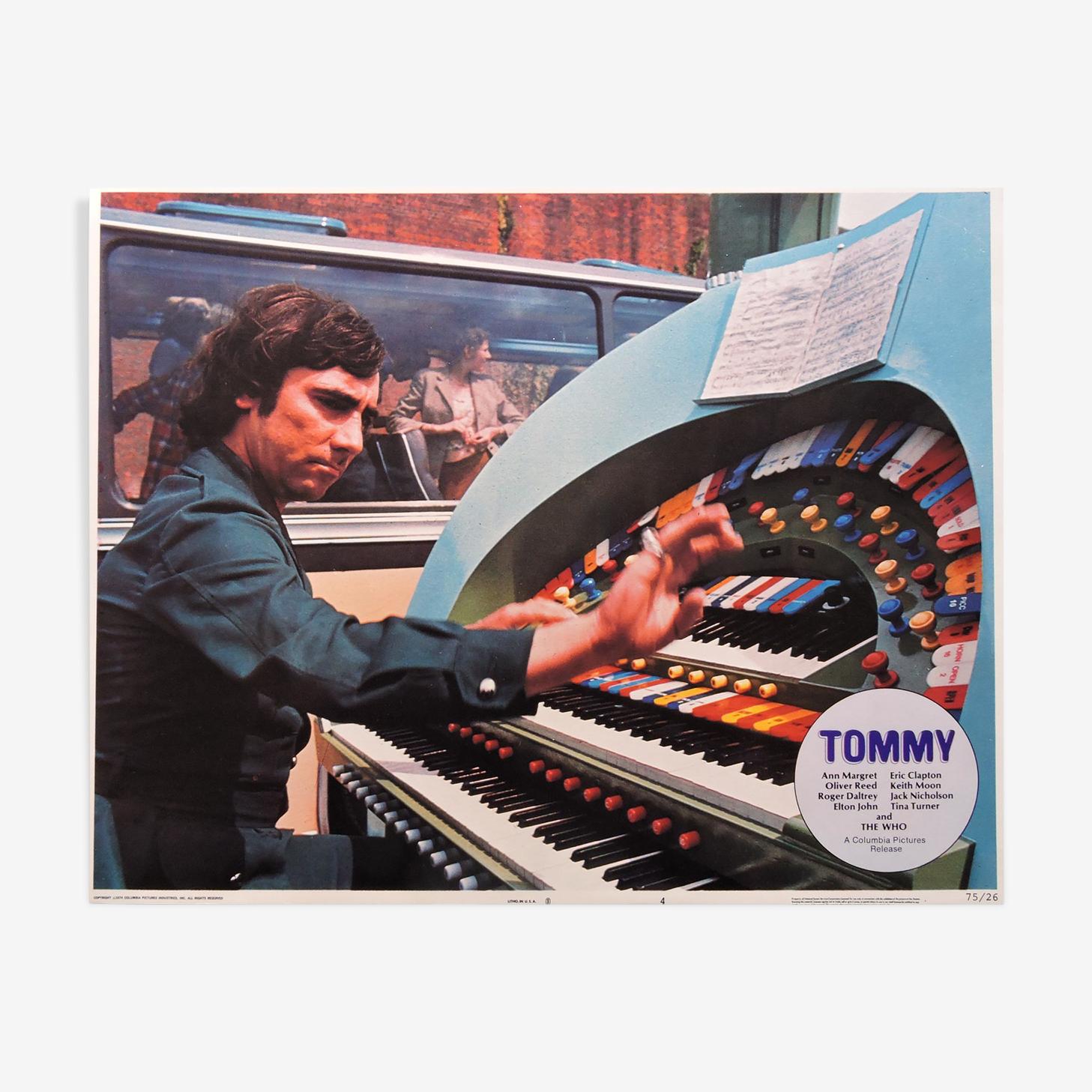 "Displays ""Tommy Lobby"""