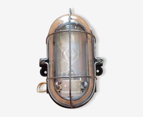 Applique hublot bloc bakelite transparent industrial 48713
