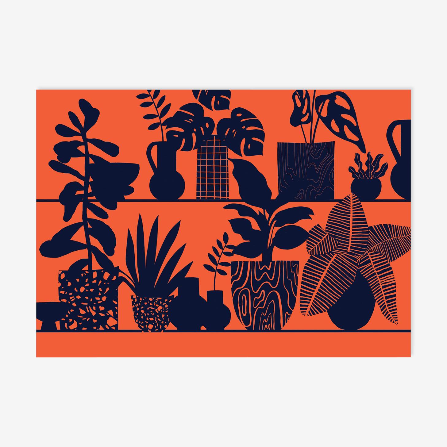 Orange tablette - écran à tirage limité