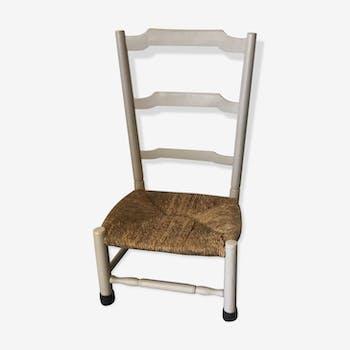 Chaise ancienne pour enfant