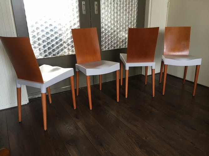 Dining Chairs by Philippe Starck for Kartell, 1990s, Set of 4