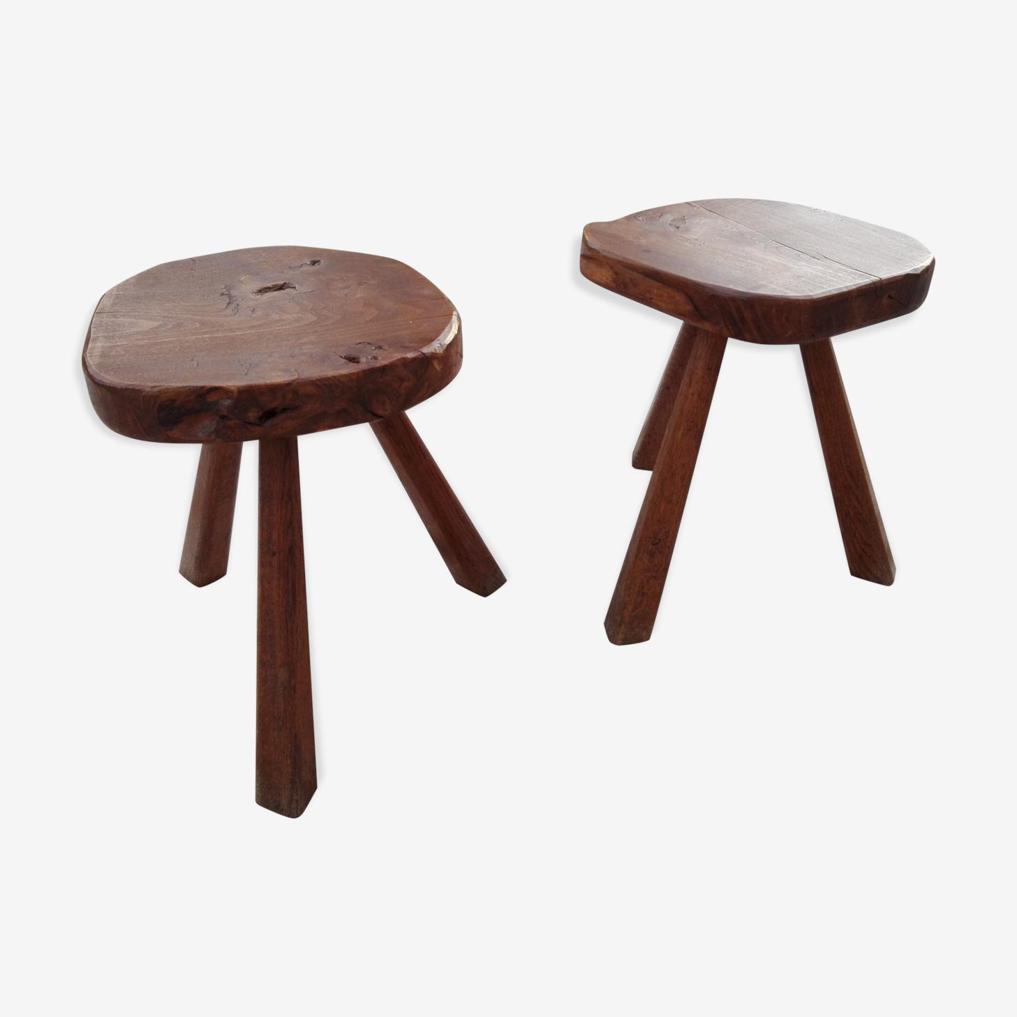 Lot of 2 stools