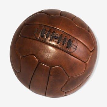 Ballon de football en cuir