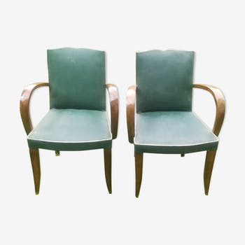 Pair of armchairs years 50
