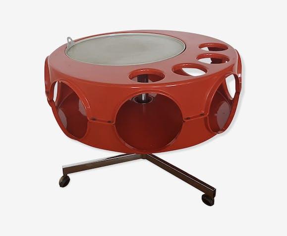 Table basse rotobar du fabricant curver design années 70 ...