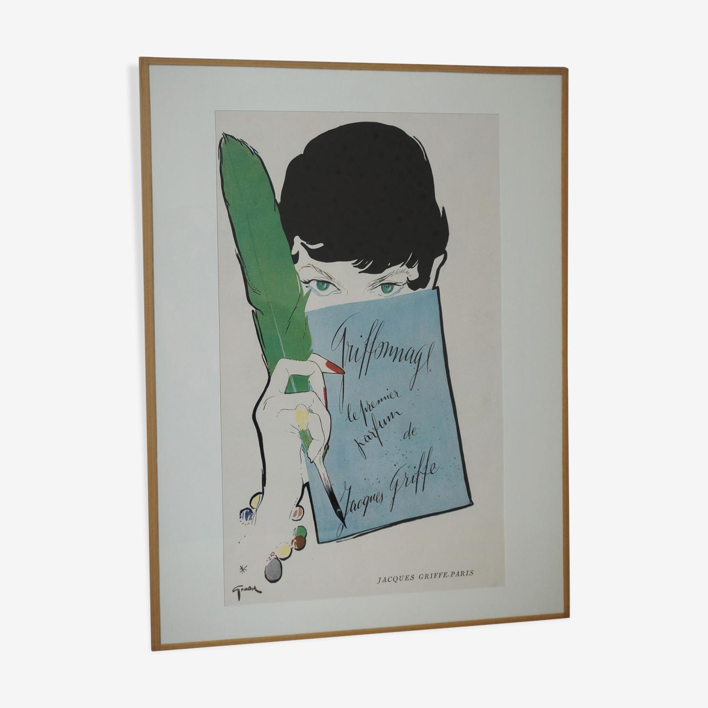 Publicité ancienne René Gruau