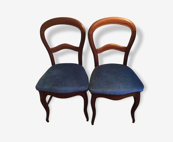 Paires De Chaises Ancienne Style Louis Philippe