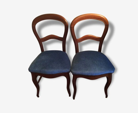Pairs Of Chairs Old Louis Philippe