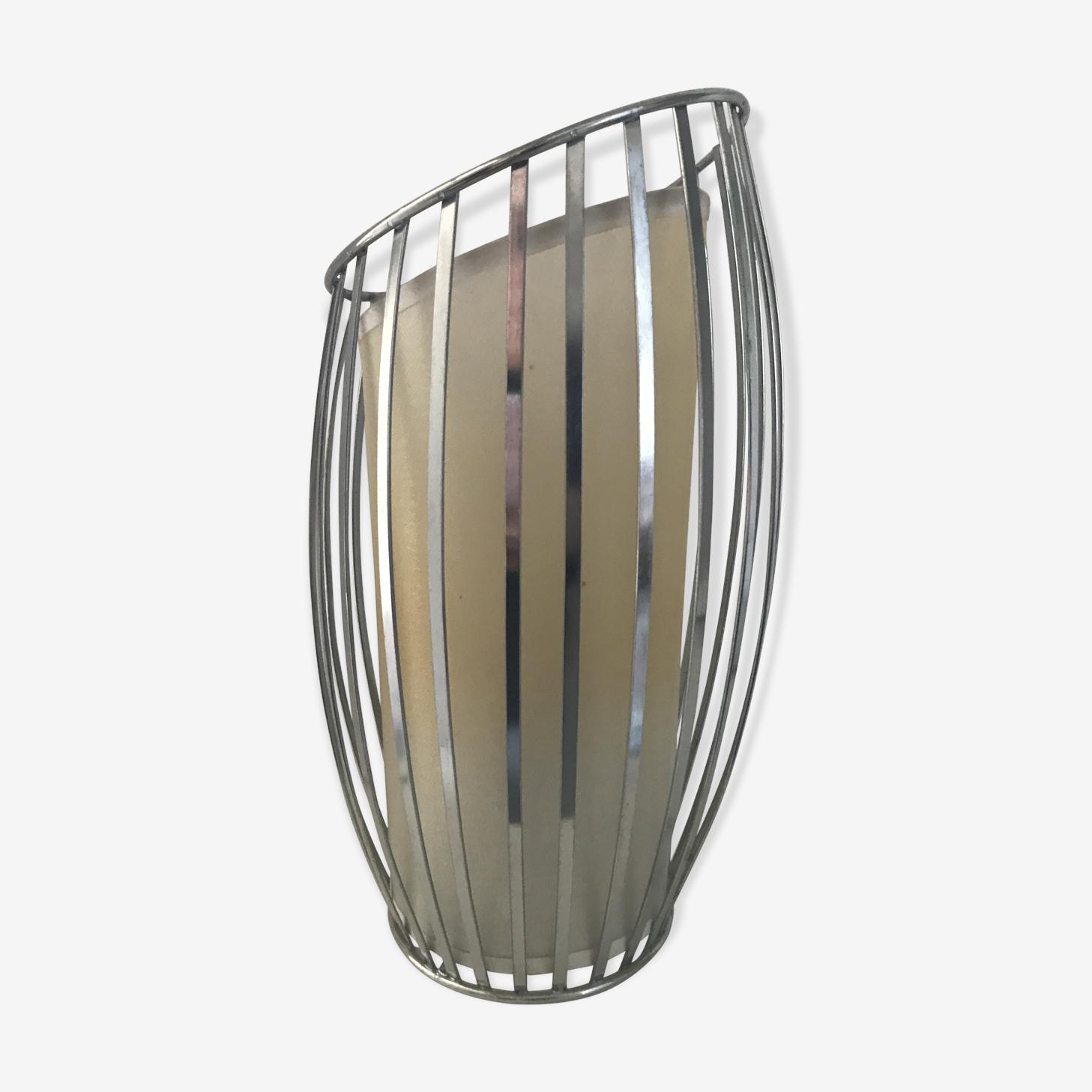 Lampe metal moderniste vintage