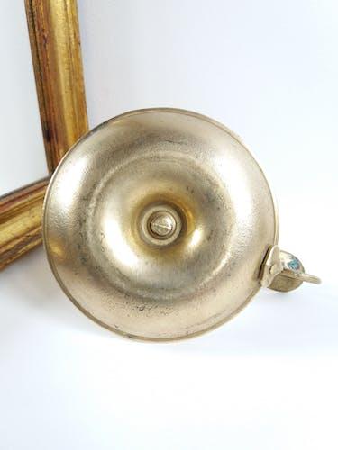 Brass cellar rat candlestick
