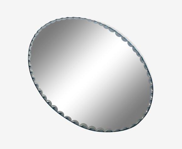 Miroir ovale à poser 21x15cm