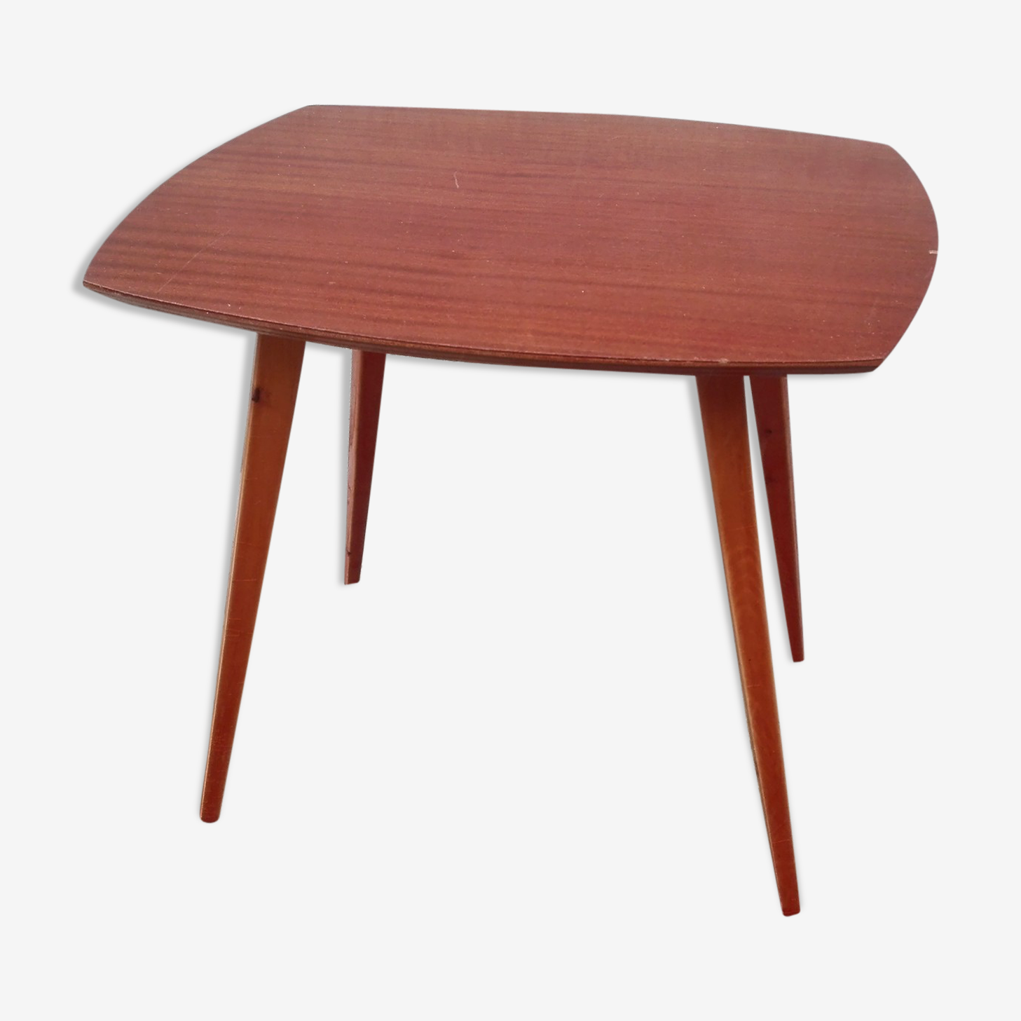 Table basse pieds compas inspiration scandinave