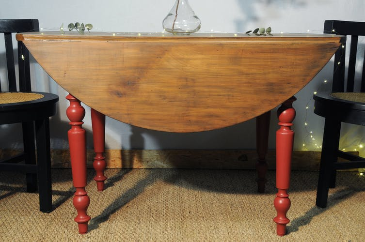 Table ronde type Louis Philippe