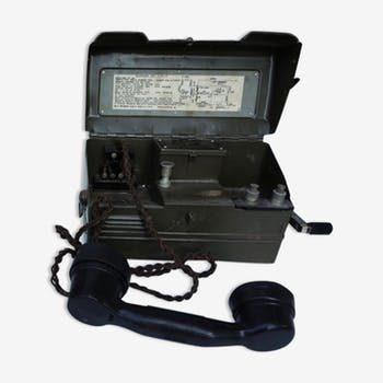 Army British military Field phone