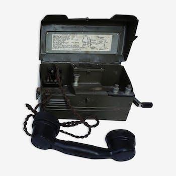 Téléphone d'Army Field Militaires britanniques