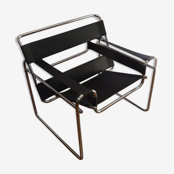 Wassily B3 armchair designed by Marcel Breuer