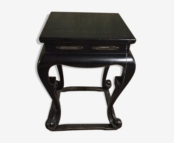 Chinese Side Table.Chinese Side Table Wood Black Ethnic Ctdf4ha