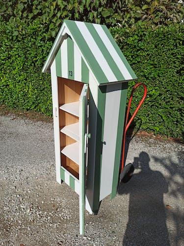 Cabine de plage, armoire pour enfants