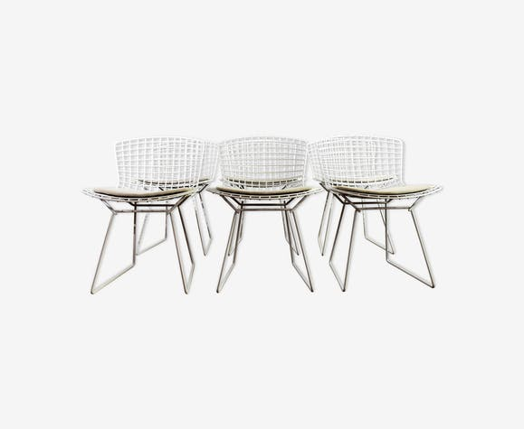 Set of 6 chairs designed by Harry Bertoia for Knoll in 1952