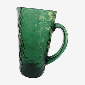 Year 60 glass pitcher