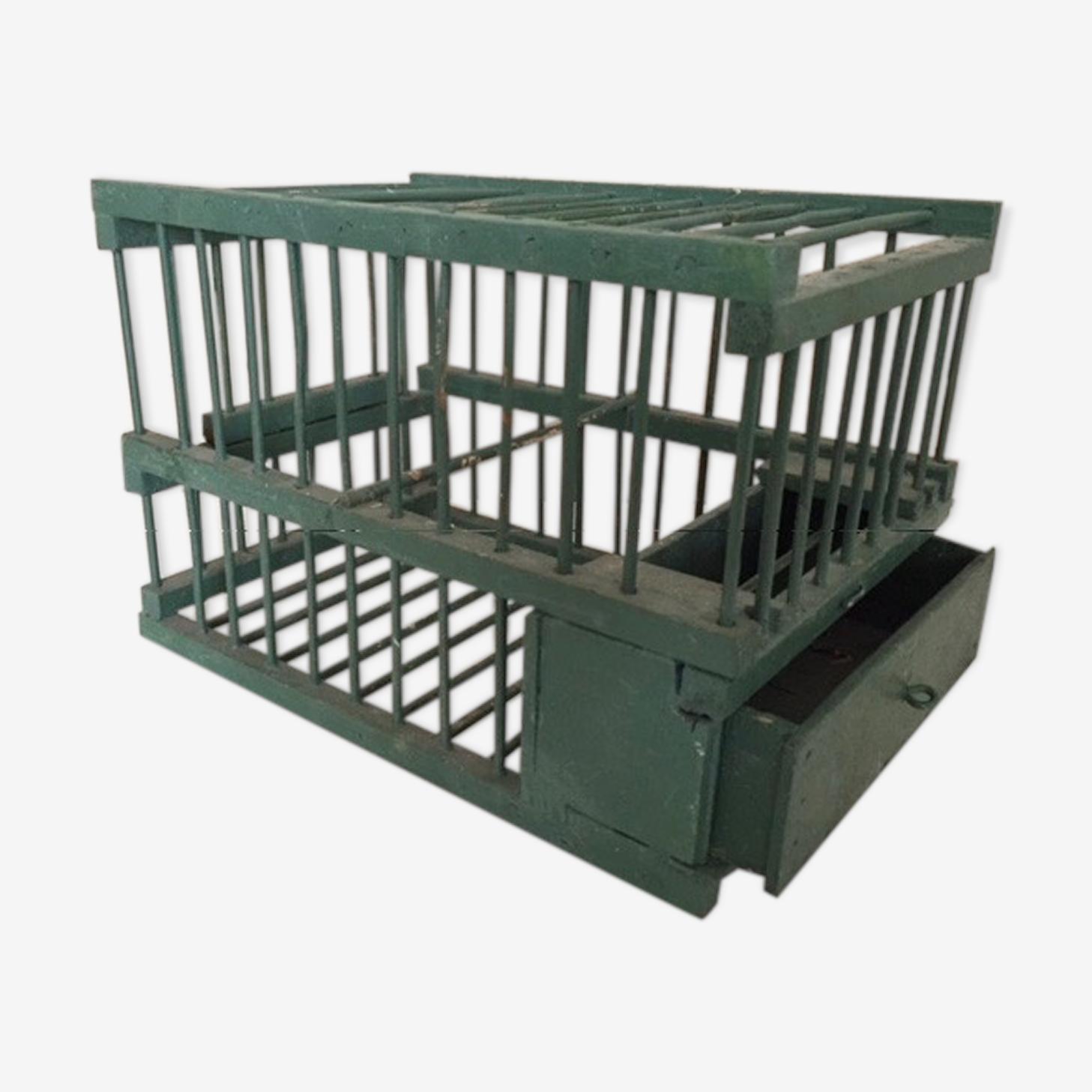 Ancienne cage d'oiseleur