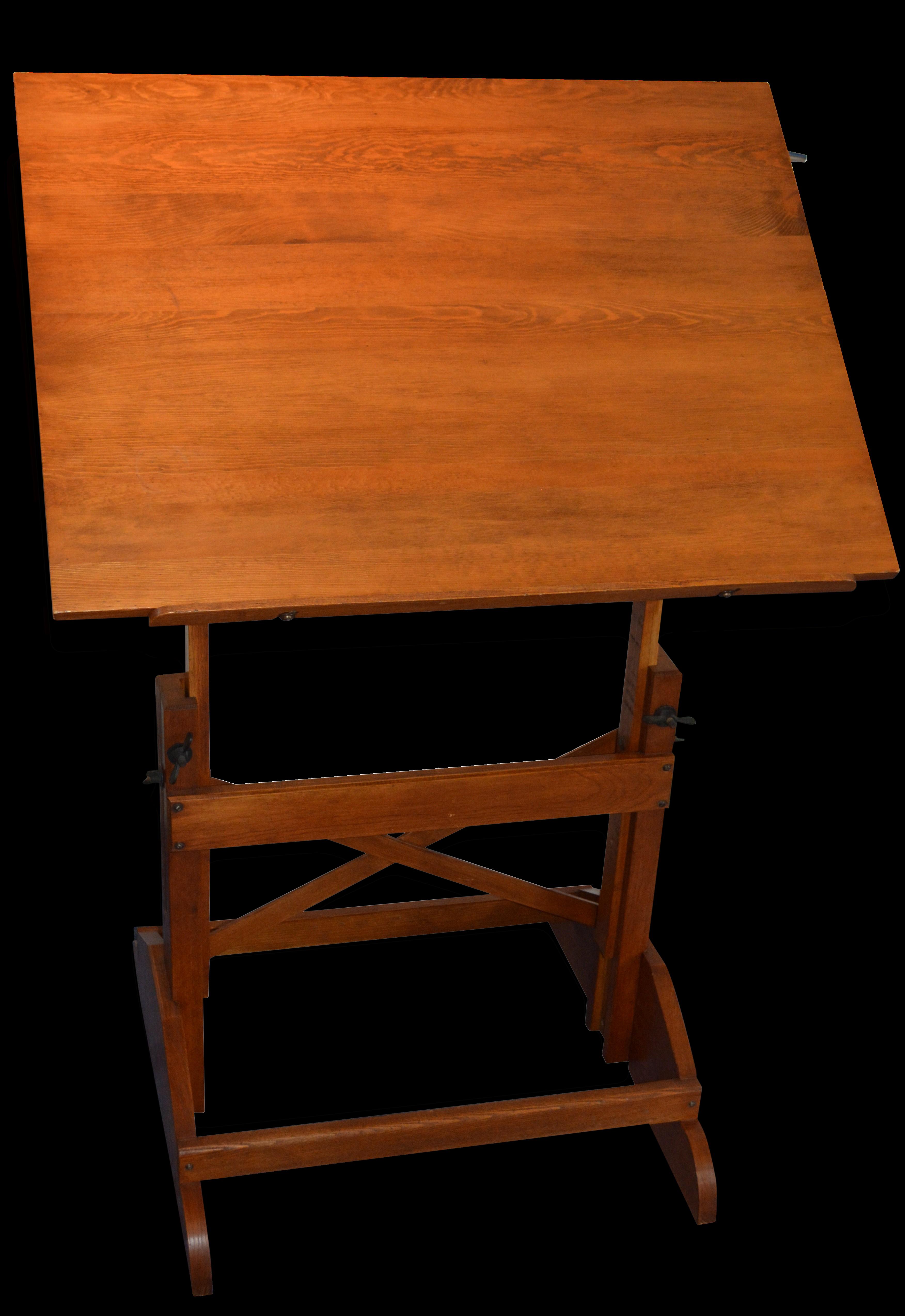 table dessin inclinable bureau dessin en rable ibo. Black Bedroom Furniture Sets. Home Design Ideas