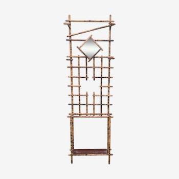 Bamboo wall hanger